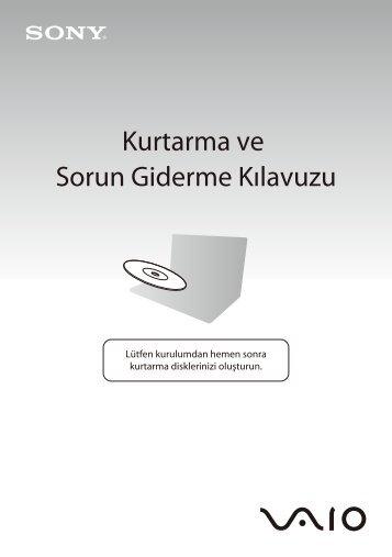 Sony VPCY11M1E - VPCY11M1E Guida alla risoluzione dei problemi Turco