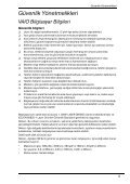 Sony VGN-NW31JF - VGN-NW31JF Documenti garanzia Turco - Page 5