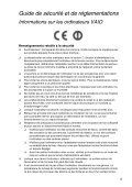 Sony SVZ1311A4E - SVZ1311A4E Documenti garanzia Francese - Page 5