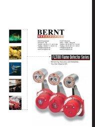 FL3100 Flame Detector Series - Bernt GmbH