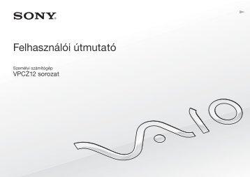 Sony VPCZ12C5E - VPCZ12C5E Istruzioni per l'uso Ungherese