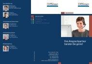 Ihre Ansprechpartner beraten Sie gerne! - Düker GmbH & Co KGaA