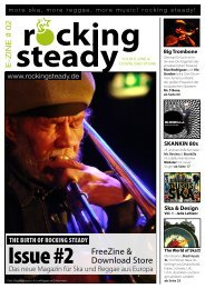 Issue #2 FreeZine & Download Store - Rocking Steady!