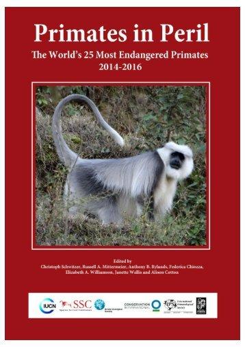 Primates in Peril