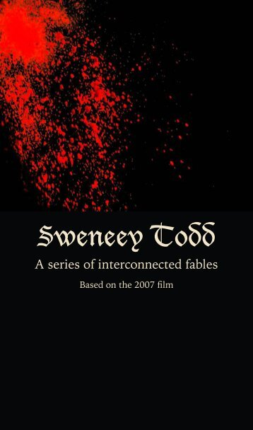 Sweeney Todd: A series of interconnected Tables