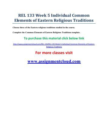 """week 5 easten religion elements Eastern religions and the environment (phil 3665 and purifying the earthly body of god: religion and ecology in hindu india week 3 o p dwivedi, """" dharmic ecology"""" k l seshagiri rao, """"the five great elements ( pancamahabhuta): an ecological perspective"""" laurie l patton """"nature romanticism and sacrifice."""