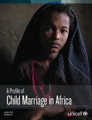 Child Marriage in Africa