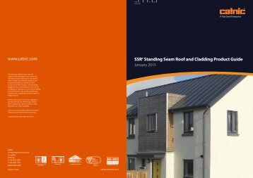 SSR Standing Seam Roof and Cladding Product Guide