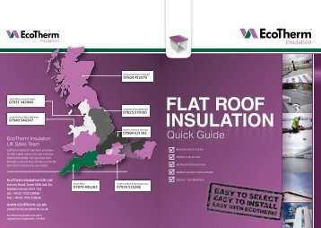 FLAT ROOF INSULATION INSULATION ROOFING FLAT