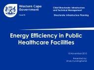 Energy Efficiency in Public Healthcare Facilities