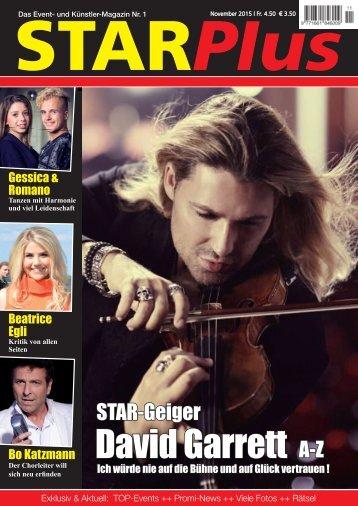 Starplus November 2015