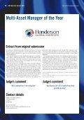 Winner ShortliSt - Henderson Global Investors - Page 2