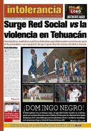 Surge Red Social la violencia en Tehuacán
