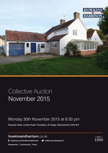 Collective Auction November 2015