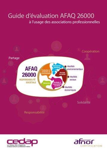 Guide AFAQ 26000 CEDAP – Octobre 2015
