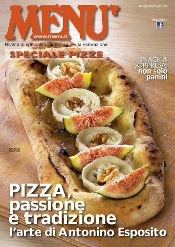 MENU Speciale Pizze - Settembre 2015