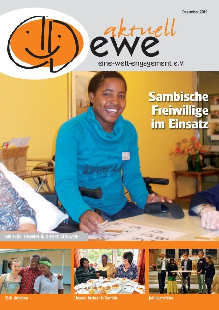 ewe-aktuell Dezember 2015