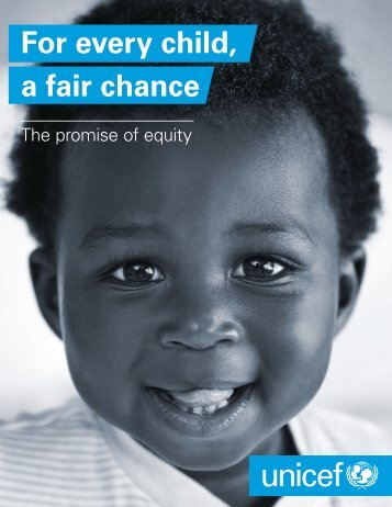 For every child a fair chance