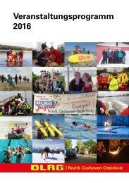 Veranstaltungsprogramm 2016