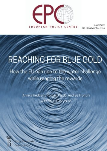 REACHING FOR BLUE GOLD
