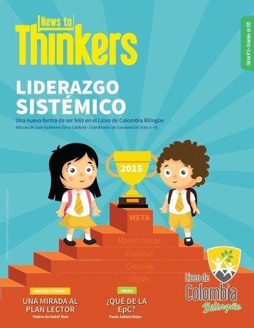 News to Thinkers - Edición 6 - Diciembre 2015