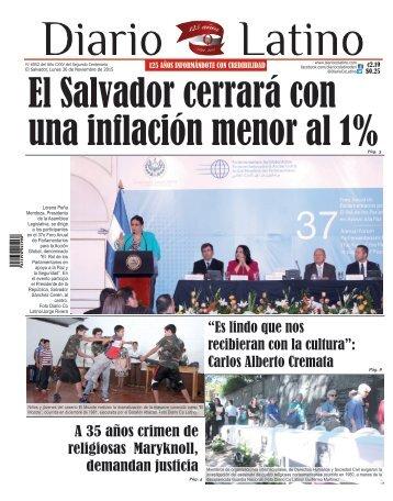 Edición 30 de Noviembre de 2015