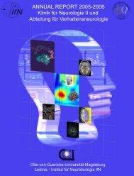 Jahresbericht 2005 - 2006 - Universitätsklinik für Neurologie - Otto ...