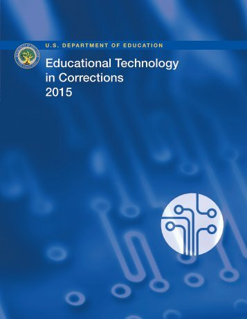 Educational Technology in Corrections 2015