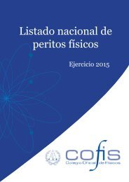 Portada y contraportada.indd - Colegio Oficial de Físicos