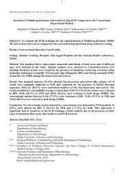 Full (127 KB) - Bahrain Medical Bulletin