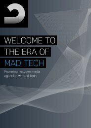 THE ERA OF MAD TECH