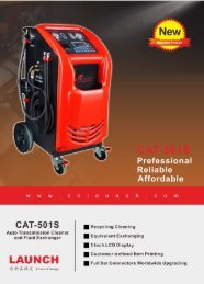 Launch CAT-501S Auto Transmission Fluid Exchanger and Cleaner