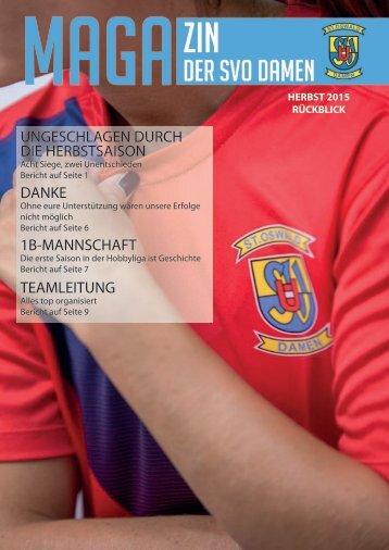 Magazin Rückblick 2015