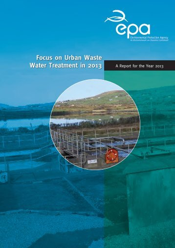 Focus on Urban Waste Water Treatment in 2013