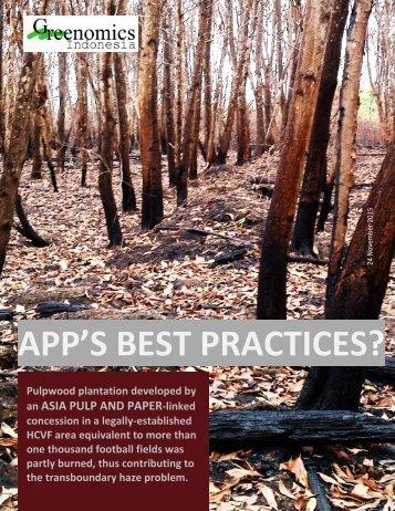 APP'S BEST PRACTICES?