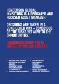 14investment professionals - Henderson Global Investors - Page 2
