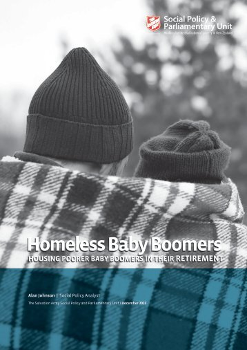 Homeless Baby Boomers