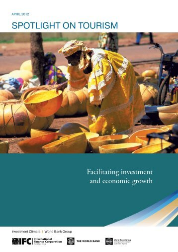 Spotlight on Tourism - Investment Climate
