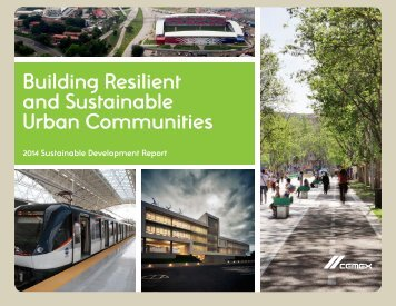 Building Resilient and Sustainable Urban Communities