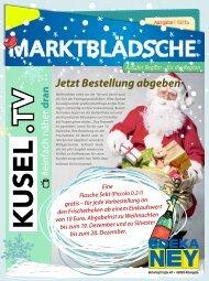 Marktblädsche - Dezember 2015 - EDEKA-Ney Altenglan