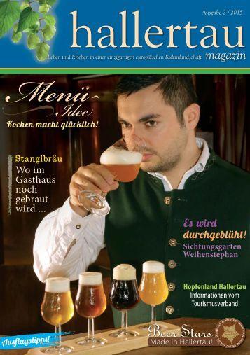 hallertau magazin 2015 / 2
