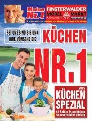 Küchen Spezial: Bei uns sind Sie und Ihre Wünsche die Nr. 1!