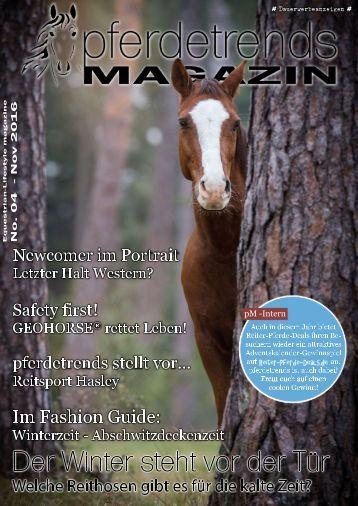 pferdetrendsMagazin No. 04 - Okt/Nov 2015