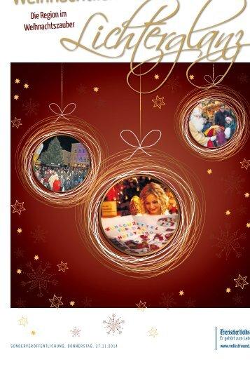 Weihnachtlicher Lichterglanz Bitburg 2014