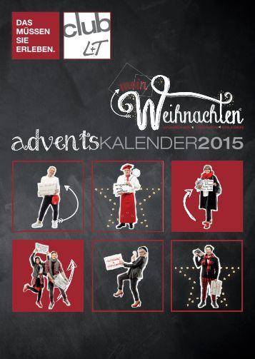 L+T Adventskalender Weihnachten 2015