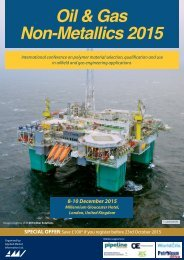 Oil & Gas Non-Metallics 2015