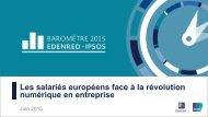 Les salariés européens face à la révolution numérique en entreprise