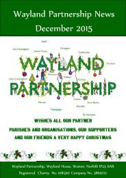 Wayland Partnership News December 2015