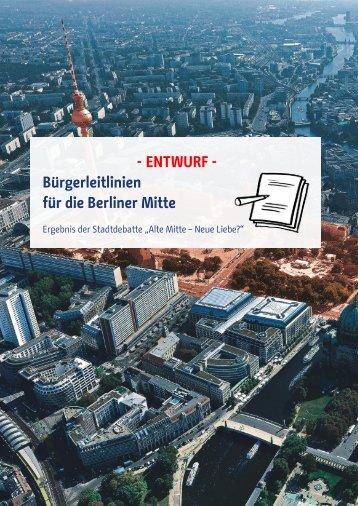 für die Berliner Mitte