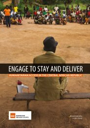 ENGAGE TO STAY AND DELIVER